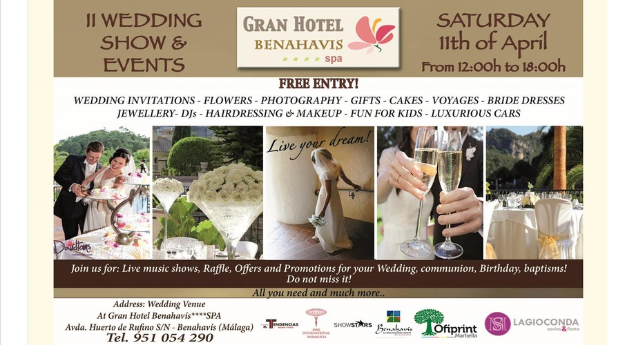 II WEDDING & EVENTS SHOW 11th APRIL 2015